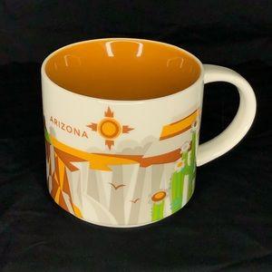 Starbucks Mug You Are Here Arizona Coffee Cup 14oz